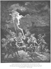 2 Kings 1 - Elijah Destroys the Messengers of Ahaziah